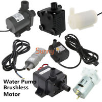 12V/24V Solar Brushless Motor Water Pump 120L 200L 240L 450L 600L 800L RS-360SH
