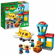 LEGO 10871 DUPLO My Town Airport Pre-School Creative Toddlers Building Toy Set