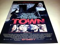 """THE TOWN PP SIGNED 12""""X8"""" POSTER BEN AFFLECK & JEREMY RENNER"""
