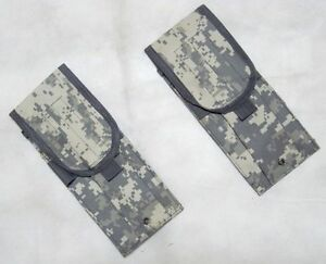 2 x New Molle Walkie-talkie Pouch ACU Digital--Airsoft