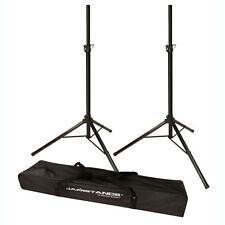Ultimate Support Jamstands JS-TS50-2 Speaker Stand PAIR with 2-in-1 Carrying Bag