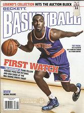Beckett Basketball Magazine Tim Hardaway Jr New York Knicks on Cover Oct 2013