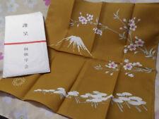 SGI Soka Gakkai Japan official FUKUSA Handkerchief Ft FUJI Sakura 015