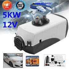 5KW 12V Air diesel Heater For Motorhome Trailer Truck Boat Bus 5000W
