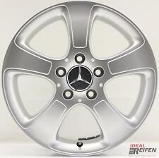 4 Originale Mercedes Classe a A169 16 Pollici Cerchi 6x16 ET46 A1694011002 Nuovo