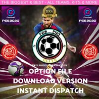 PES 2020 PS4 OPTION FILE 100% COMPLETE - INST. DOWNLOAD - INC LEGENDS + GIFT!!!!