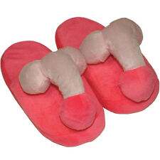 Pink Penis Slippers Code: 779849 - Authorised UK Seller, Same Day Dispatch