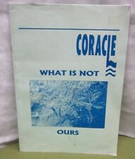 Coracle What Is Not Ours journal 1998 Glasgow theologian Bernhard Herring