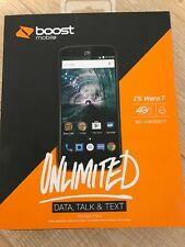 "BOOST MOBILE , Brand New ZTE Warp 7 16GB 4G LTE Smartphone 5.5"" Large Screen"