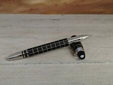 MONTBLANC StarWalker Metal and Rubber Platinum Plated Rollerball / Fineliner Pen