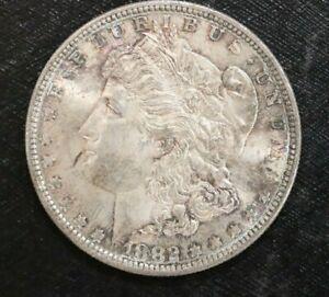 1882-S MORGAN SILVER DOLLARS UNCIRCULATED L1M13