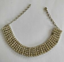 Vintage rhinestone chocker necklace