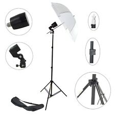 Kit Illuminatore Flash DynaSun FLS80 Cavalletto Stativo, Lampada Flash, Ombrello