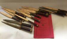 Ritual For The First Degree Supreme Consistory Of Masons With 13 Wood Daggers