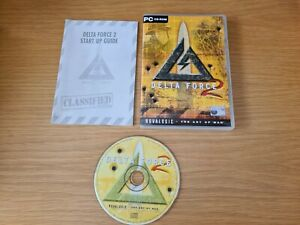 Delta Force 2 PC CD-ROM Video Game with manual