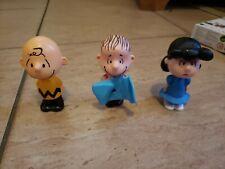 McDonalds Happy Meal Peanuts Figure Lot of 3