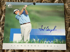 2004 Fred Couples 8 x 10 UD Authentic Signature Shots Golf Autograph BOOM-BOOM