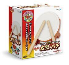 NAMCO Taiko no Tatsujin Wii U Drum & Drumstick Bachi Controller Japan +Tracking