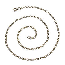 5pcs/lot Gold Silver Plated 3*4mm Iron Open Link Chains Necklace Jewelry Finding
