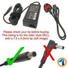 Dell Inspiron 15 3000 5000 7000 Series 65w Laptop Power Supply Charger UK Cord
