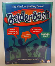Balderdash The Hilarious Bluffing Game Absolute Balderdash BRAND NEW