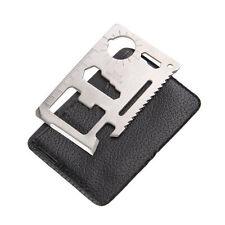 11 in 1 Multi Function Credit Card Survival Pocket Outdoor Tool Bottle Opener