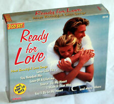 3 CD-S READY FOR LOVE - Most beautiful Love Songs - Modern Love System