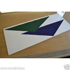McLOUIS Motorhome Triangles Logo Sticker Decal Graphic - SINGLE