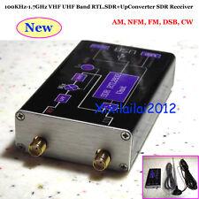 100KHz-1.7GHz VHF UHF Band RTL.SDR+Up Converter SDR Récepteur Radio Antennes FM