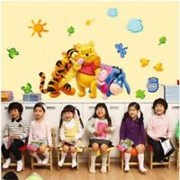 Wallpaper For Kids Boys Room Nursery Decor Cartoon Winnie the pooh Wall Sticker