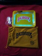 Yellow Backwood x Glow Tray Led Rolling Tray 6 Changeble light colors 💛
