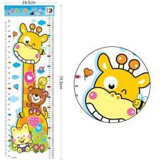 New 24.5*75.5cm  Baby Child Growth Height Measurement Chart Wall Sticker  KZ