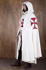Medieval Templar Crusader Tunic,Surcoat & Cloak Reenactment SCA Larp