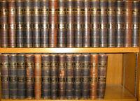 LEATHER Set;LIBRARY WORLD'S BEST LITERATURE! Encyclopedia(1896!)Britannica Twain