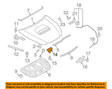 SUBARU OEM 09-16 Forester Hood-Lock Latch Striker 57311AG010