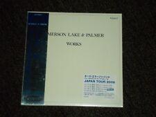 Emerson, Lake & Palmer Works Volume 2 Japan Mini LP SHM sealed