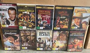 John Wayne 10 DVD Collection Set Brand New and Sealed Australia