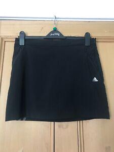 Ladies black Adidas Skort size mefium