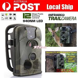 32GB 12MP Little Acorn Ltl-5210A Hunting Scouting Trail Camera Wildlife Security