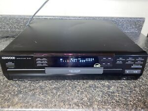 Kenwood CD-404 5 Disc Carousel CD Changer Player Tested Works