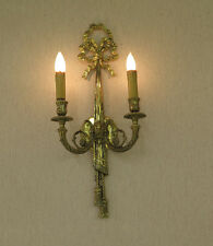 Wall Sconce Light Fixture Hall Wall Interior Lighting Intricate Design Gold Nice