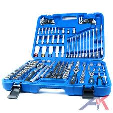 SW-Stahl Werkzeugkoffer, Ratschen Set, Steckschlüsselsatz 176-Teilig, 07635L