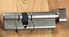 ABUS KE90N Z37K55 E90 Thumbturn Cylinder NICKEL Knauf Schließ- Profil- Zylinder