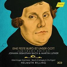 Johann Sebastian Bach & Martin Luther: Ein Feste Burg ist Unser Gott [New CD]