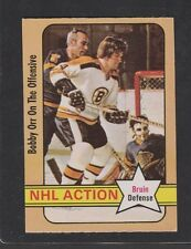 1972-73  OPC O-PEE-CHEE # 58 BOBBY ORR NHL ACTION EX+/EM  CONDITION INV 2630