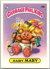 1985 Topps Garbage Pail Kids Series 1 #12b Hairy Mary  V44378