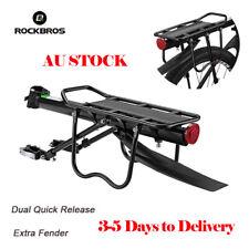 ROCKBROS Bicycle Rear Rack MTB Bike Quick Release Rack 75KG Carrier With Fender