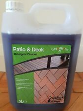 Concentrated Patio and Decking Cleaner 5 litre. Makes 55 litres of cleaner