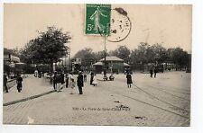 PARIS CPA 75 à la porte de saint Cloud