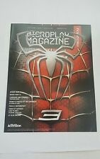 microplay magazine # 141 , 2007 spiderman 3 cover